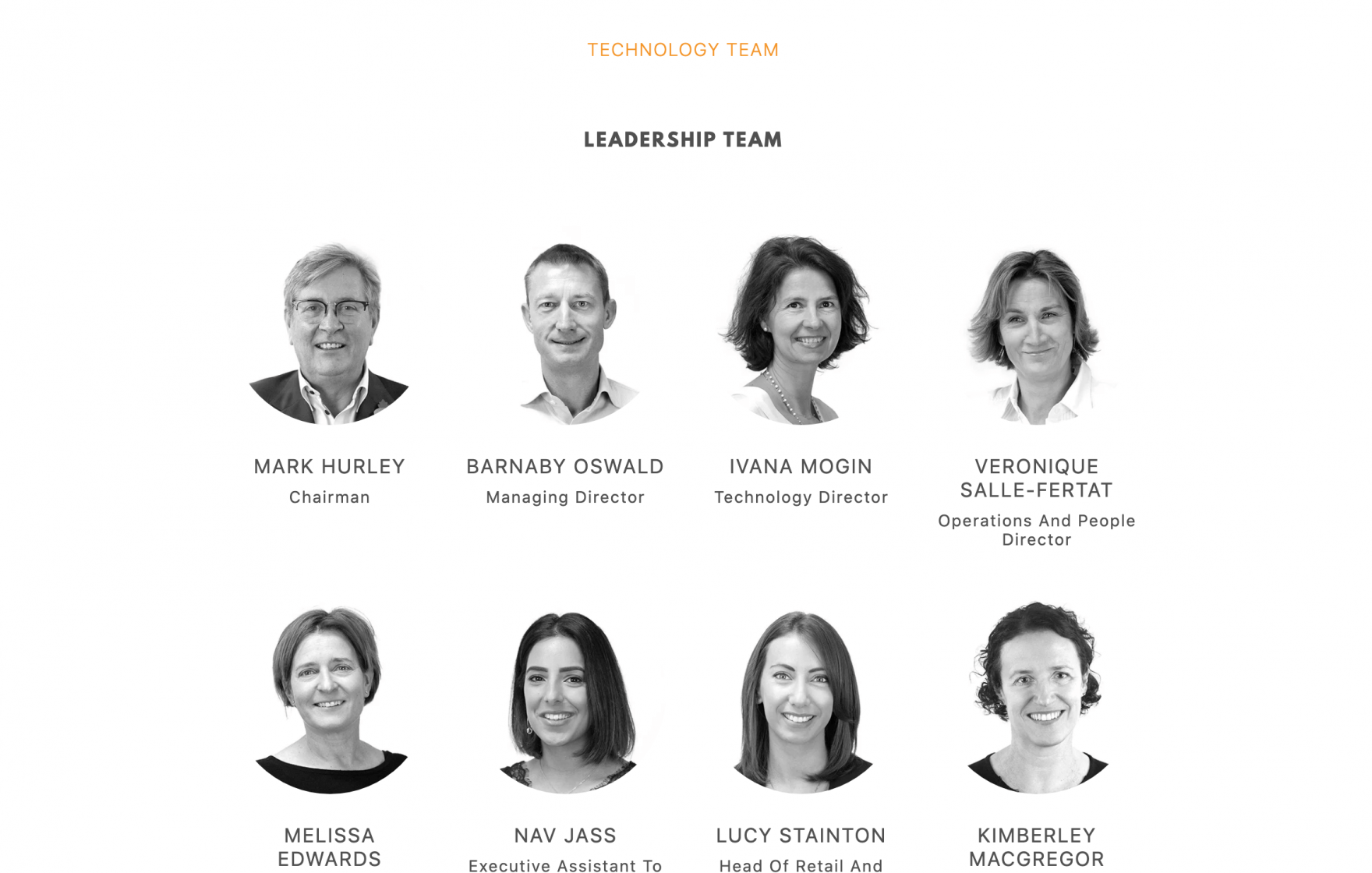 Screenshot of the LDC 'meet the team' page © Jeremy Hickman